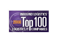 Inbound Logistics Top IT Provider Award