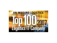 2007 Inbound Logistics Top 100 Logistics IT Provider Award
