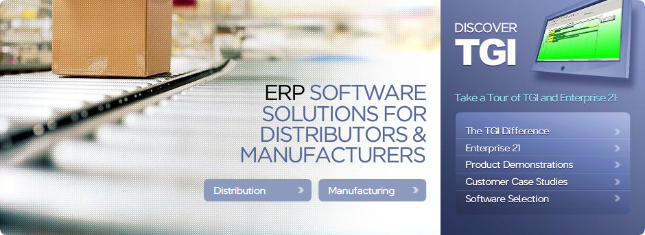 ERP Software Solutions from TGI