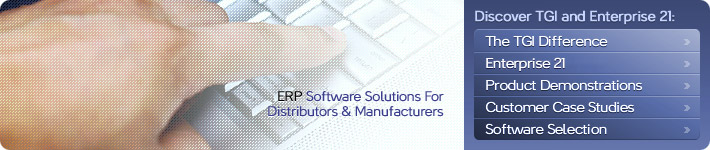 ERP Software Solutions for Manufacturers and Distributors