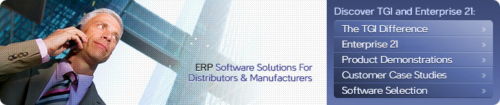 ERP Accounting Software Solutions for Manufacturers and Distributors