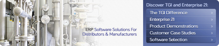 ERP Manufacturing Software for small to mid-market manufacturing companies