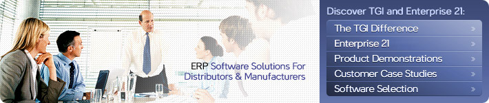 ERP Implementation Services from TGI